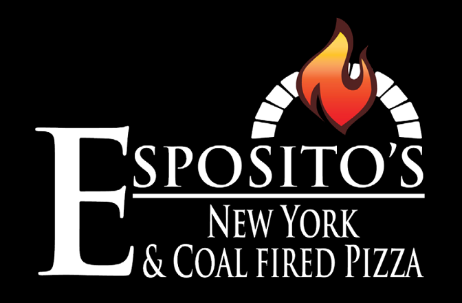 logo of espositos coalfired pizza